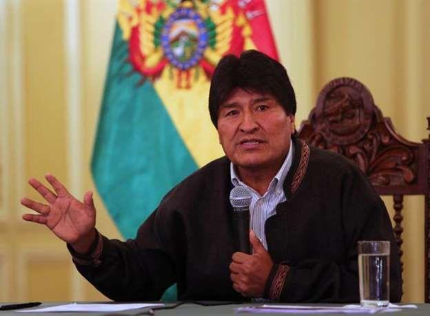 """Bolivia le pide a la ONU """"medidas drásticas"""" contra EE.UU. por ser el mayor contaminante: El presidente de Bolivia, Evo Morales. EFE/Archivo"""