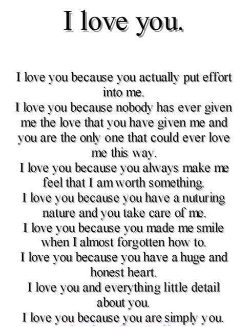 55 best sweet cute texts and love poems images on Pinterest   I love you, Teenage post and Words