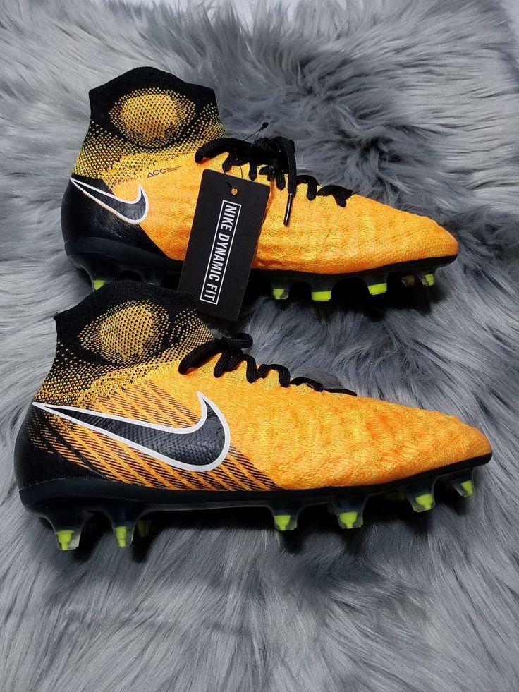 Nike jr magista obra ii fg flyknit acc soccer cleats size
