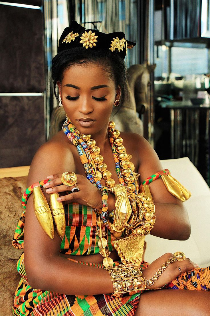 This how extra I wanna be for my traditional engagement #ghana #beautiful