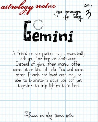 Gemini Astrology Note: Like horoscopes?  Ever tried a numeroscope?  Visit iFate.com today!