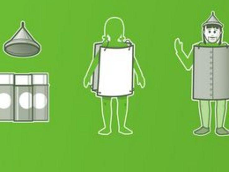 How to Make a Tin Man Costume