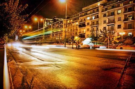 athens by night Photo by peter halas — National Geographic Your Shot