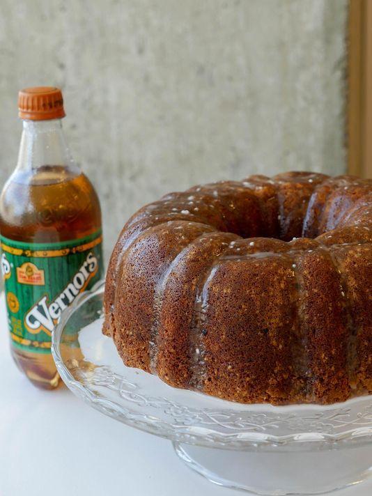 Vernors recipe: Bundt cake with ginger glaze