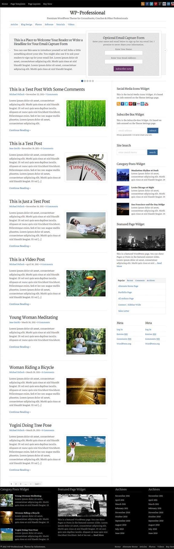 22 best Best Blog Themes images on Pinterest | Cleanses, Premium ...