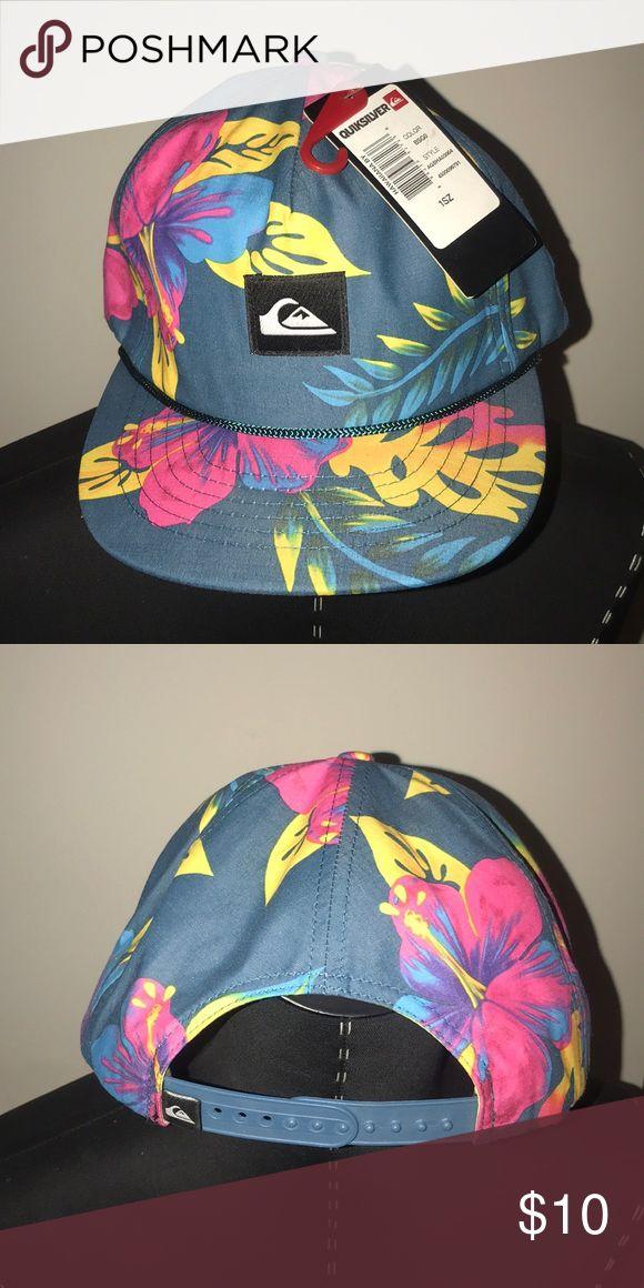 NWT....Quicksilver Hawaiian Hat Brand New Hawaiian Quicksilver Hat Boys.....it's also very cute for gals. Quiksilver Accessories Hats