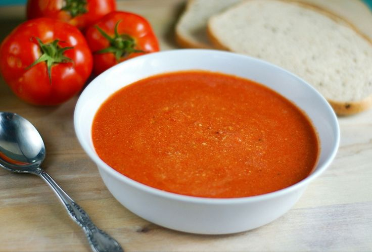 Add Salt — Comfort Tomato Soup   This soup is prepared with...