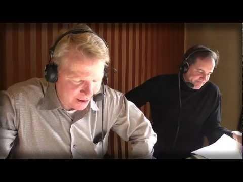 Jim Nantz & Phil Simms recording Madden NFL 13 commentary