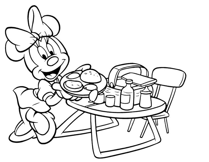 Minnie Mouse Minnie Mouse Coloring Pages Coloring Pages Mouse Color