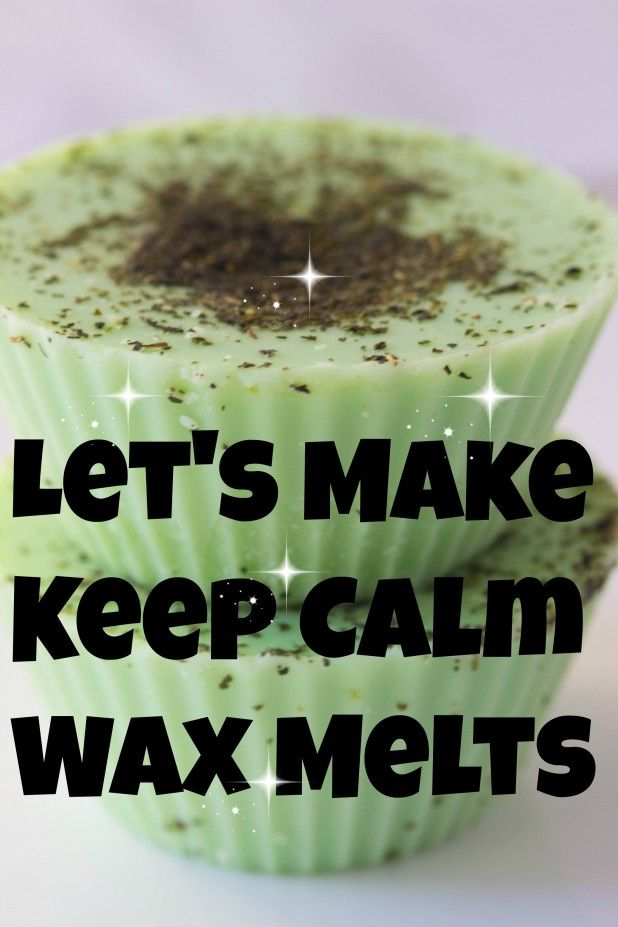 Today were making a relaxing blend of wax that you can put in your warmer and keep you calm all day long