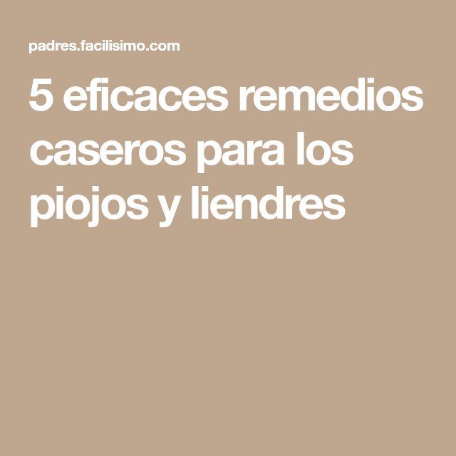 5 eficaces remedios caseros para los piojos y liendres