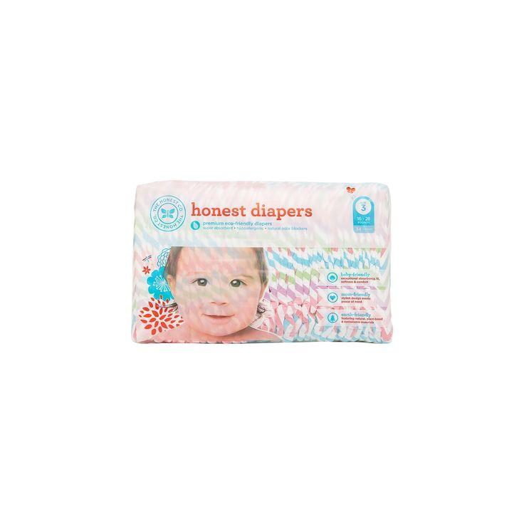 Honest Company Diapers Chevron - Size 3 (34 ct),