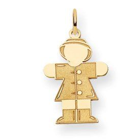 14k Kid Charm Jewelry Brothers designer gifts. Up to 75% off retail prices. The item comes with a FREE gift box. 21-days money back guarantee. Exceptional customer service.  #JewelryBrothersPendant_COMMA_Charm #Jewelry