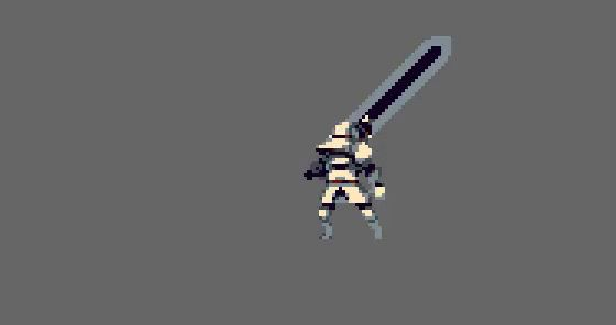 knight swing animation for Momodora IV by rice