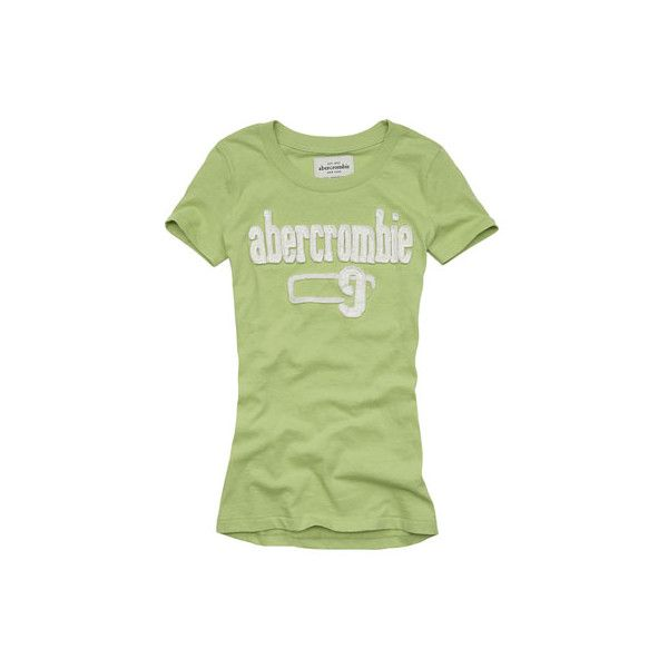 abercrombie > girls > graphic tees > cara ❤ liked on Polyvore featuring tops, shirts, tees and abercrombie