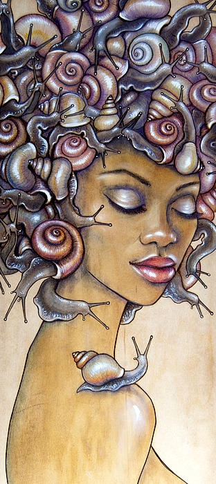 """Snail Fro by Fay Helfer"" - ha, that's just cool"