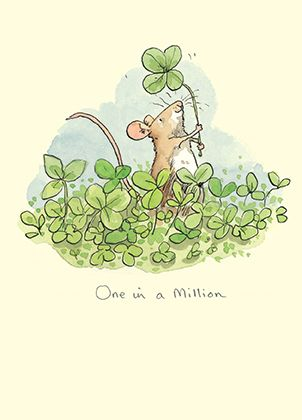 M218 One in a Million by Anita Jeram A Greeting card by www.twobadmice.com
