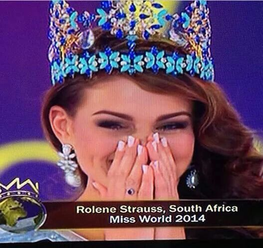 Rolene Strauss miss World 2014