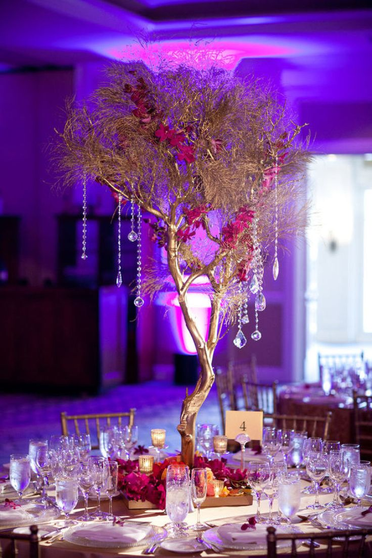 branch wedding centerpieces centerpieces for wedding Amaze Your Guests With 34 Tasteful Wedding Centerpieces