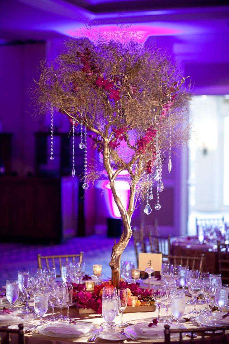 branch wedding centerpieces wedding centerpiece Amaze Your Guests With 34 Tasteful Wedding Centerpieces