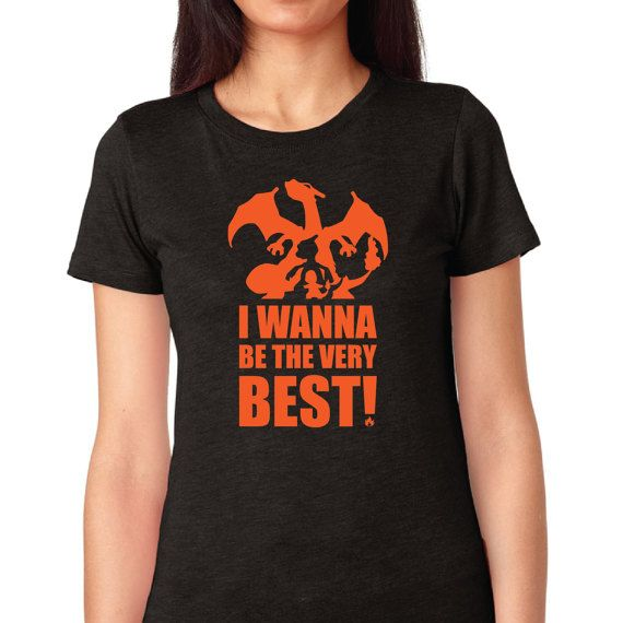 Pokémon Shirt Charizard Evolution Women