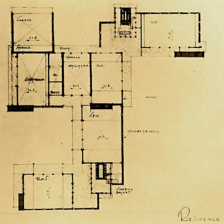 La connection property blog the schindler house at 835 n for 1 king west floor plans