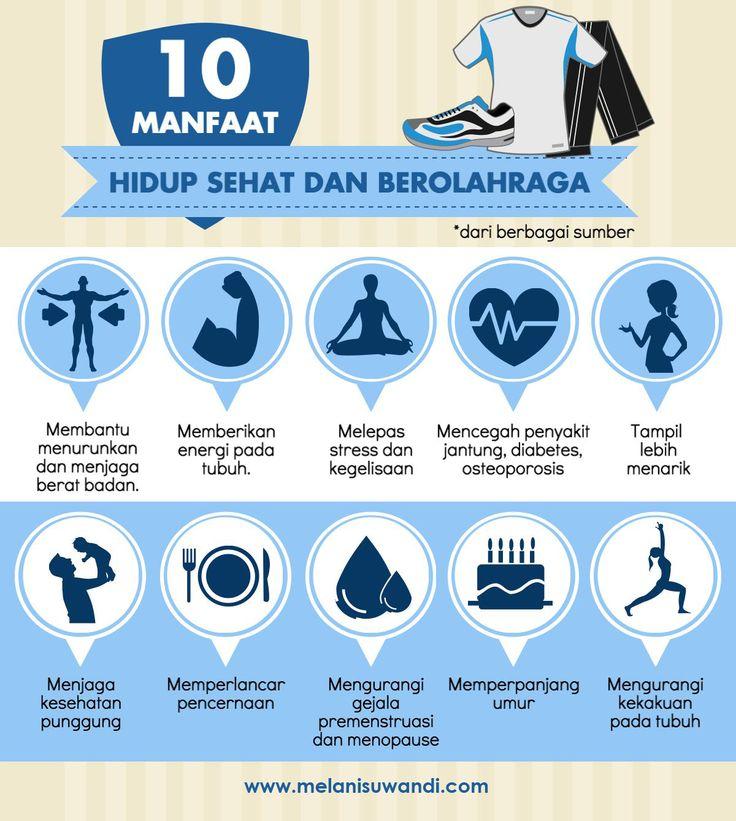 10 Manfaat Hidup Sehat dan Berolahraga