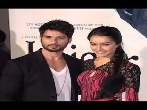 HAIDER movie trailer launch | Shahid Kapoor, Shraddha Kapoor.