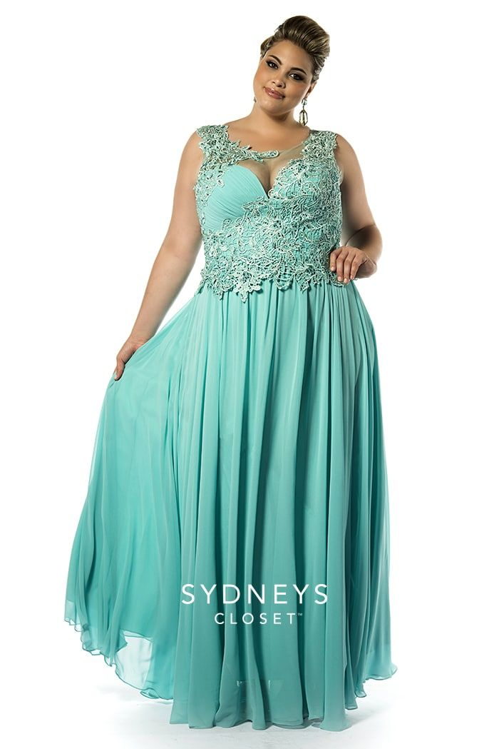 315 best plus size evening wear dresses images on pinterest for Plus size wedding dresses size 32 and up