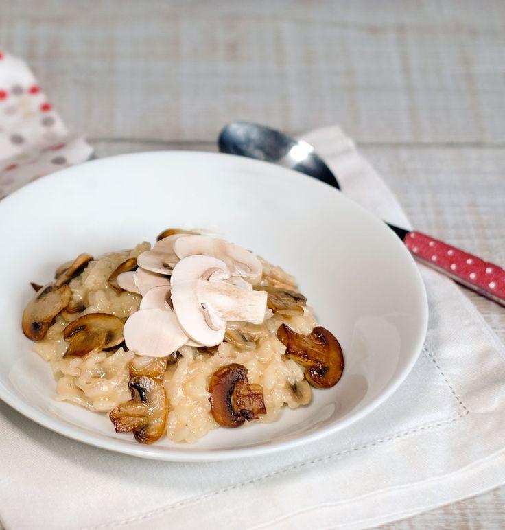 Risotto à la sauge, tomme de Savoie et champignons