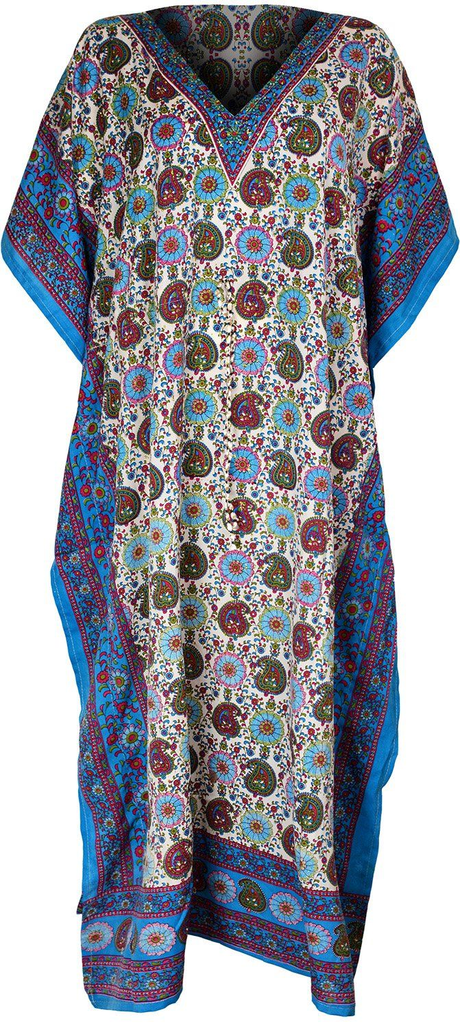 Have just discovered Amazon is chock full of cheap hippy clothes - ruh roh! Womens Long Kaftans Printed Long Dress Summer Top (One Size, Blue): Amazon.co.uk: Clothing