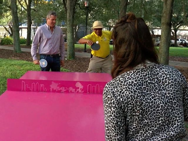 Free family fun over winter break! Thank you ABC Action News' Sean Daly and for showcasing one of our tables. Check out the video and if you're in downtown Tampa, go ping pong it up!