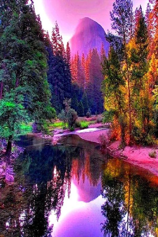 M s de 25 ideas incre bles sobre hermosos paisajes en - Paisaje con colores calidos ...