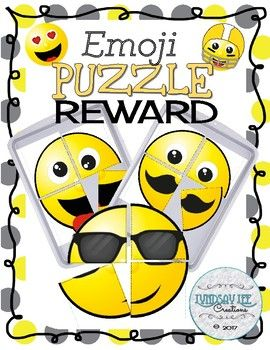 Behavior Management: Emoji Puzzle Reward