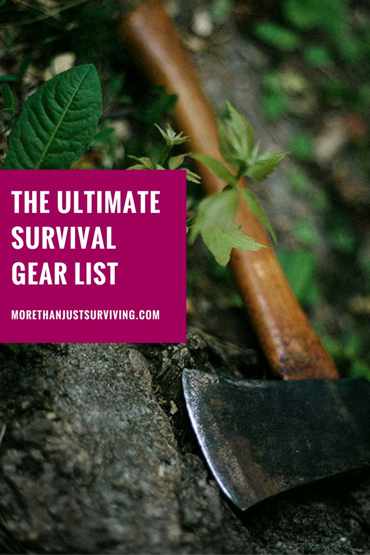 The Ultimate Survival Gear List
