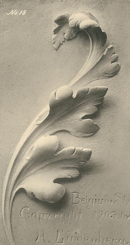 Acanthus-plate18-Belgium-lg | Flickr - Photo Sharing!