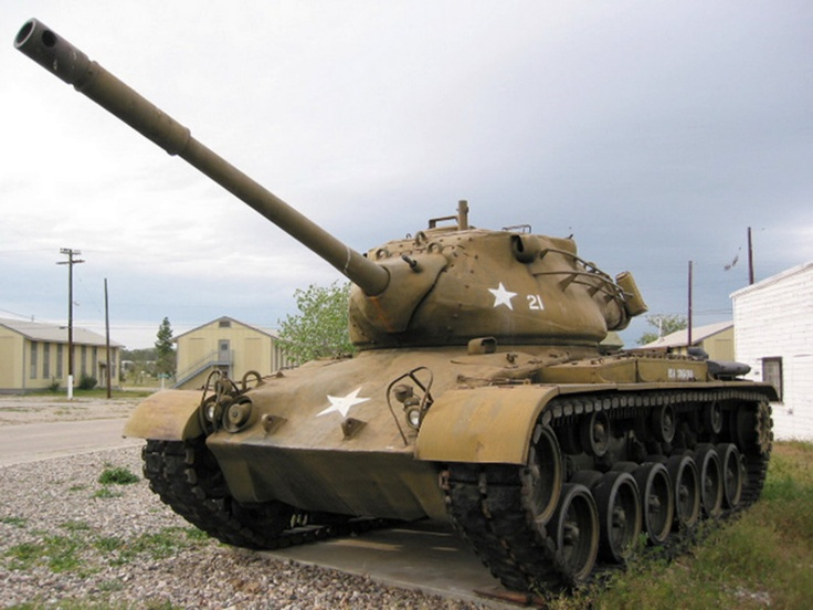 The M47 Patton is an American medium tank, the second tank to be named after General George S. Patton, commander of the U.S. Third Army during World War II and one of the earliest American advocates of tanks in battle. It was a further development of the M46 Patton tank...