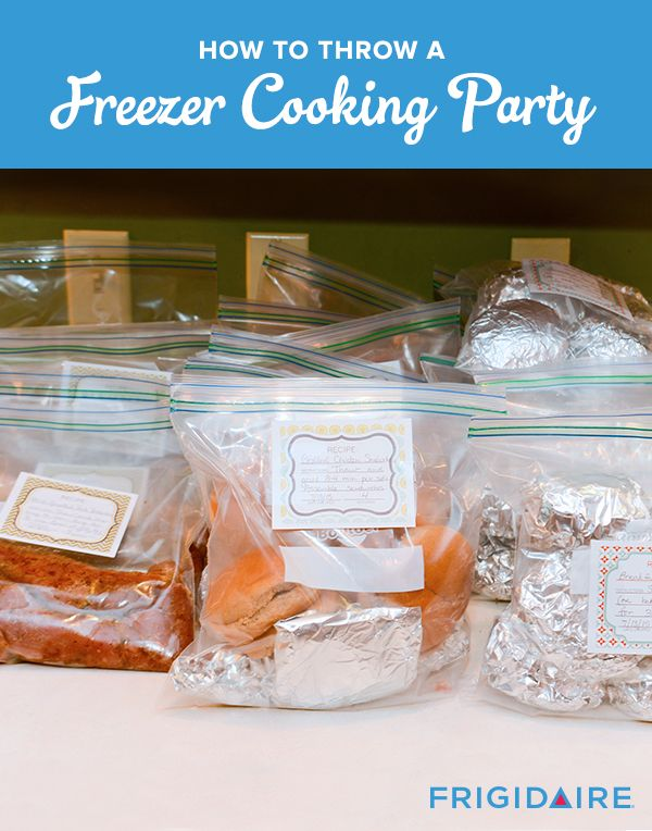A perfect back-to-school idea? A Freezer Party! By prepping a ton of meals in advance for freezer storage, you'll save time, money AND have an excuse to get together with friends (who will go home with a bunch of meals, too!) Check out Thriving Home for a how-to guide, including recipes and a party plan.