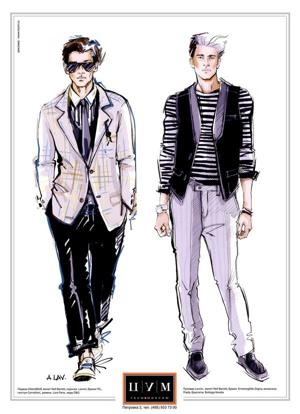 men fashion sketches - Google Search | Sketchy | Pinterest