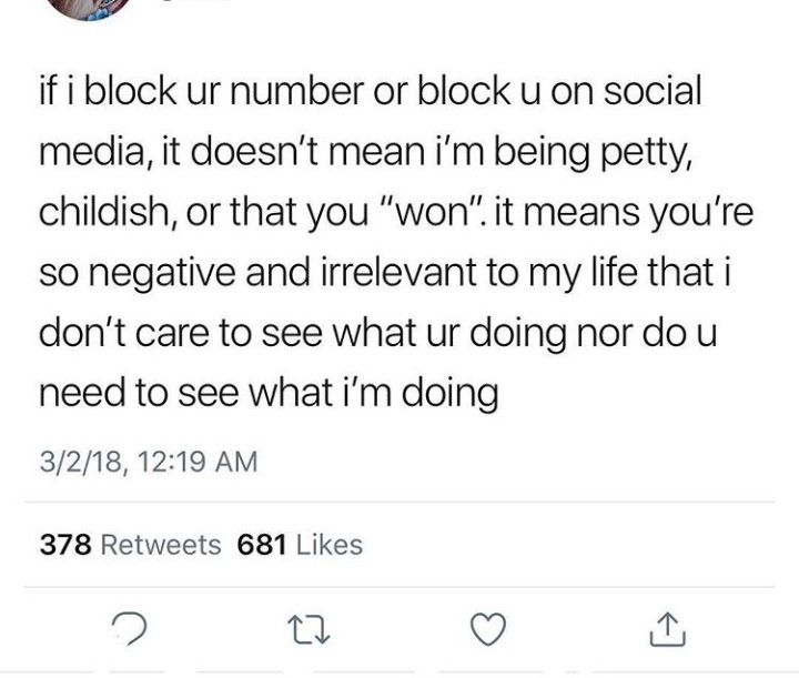 The day i stop caring will come. Block me before then, mr i dont care.