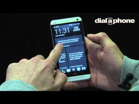 #HTC One Hands-on #Review #MobilePhones