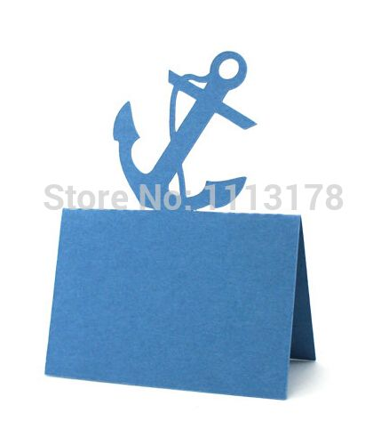 Anchor Coastal Wedding, Wedding Place Cards, Nautical, Baby Shower, Seating Card, Ocean, Rustic Wedding, Escort Cards, Party-in Event & Party Supplies from Home & Garden on Aliexpress.com | Alibaba Group