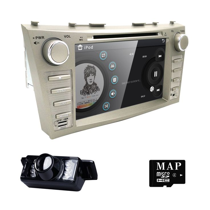 "==> [Free Shipping] Buy Best car dvd fit 8""Toyota Camry 2007-2011 Memory Card InputMotorized DisplayMP3 PlayerSteering Wheel ControlTouchscreenTV Tuner Online with LOWEST Price 