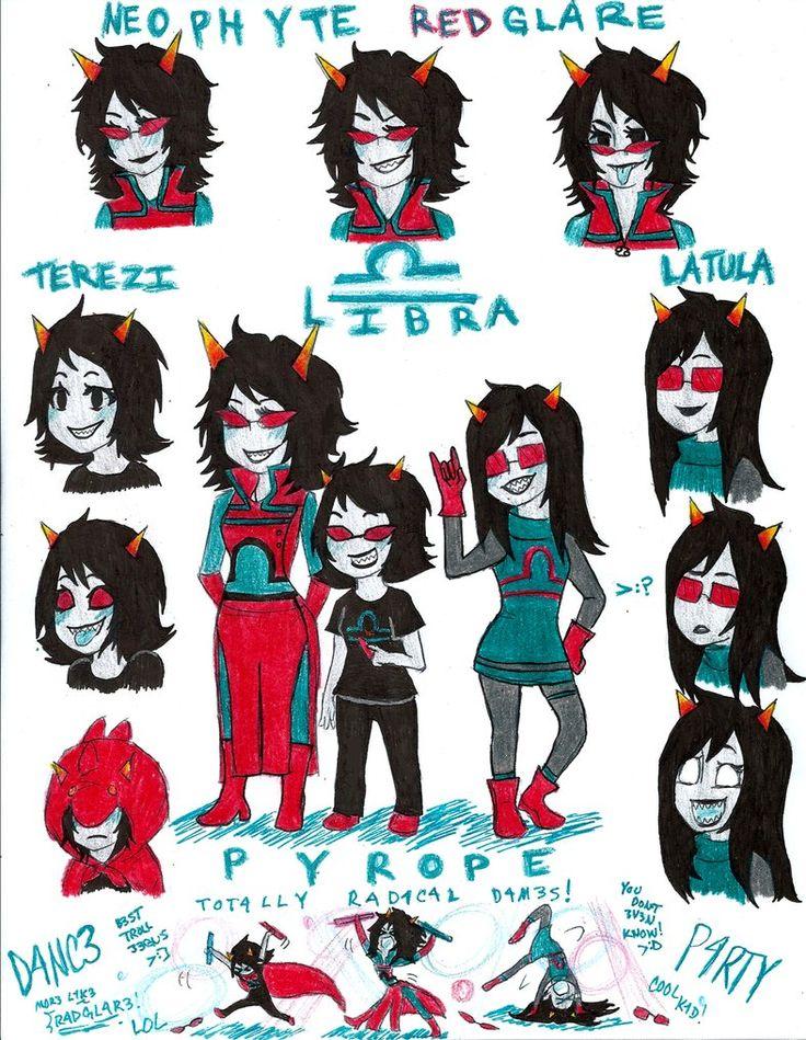 zodiac signs art libra homestuck libra by ivettelc98