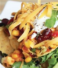 Weigh-Less Online - Bean Corn And Nacho Salad