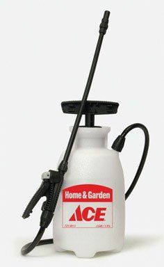 "CHAPIN MFG 20090 ACE TANK SPRAYER [Misc.] by Chapin. $10.68. ""ACE"" TANK SPRAYER *Poly *Home and garden *1/2 gallon *Multi-purpose sprayer for the home and garden *Sure spray anti-clog filter *""T"" style handle *Funnel top for easy filling *Easy clean poly shut-off *Replaces Ace no. 74497 - Mfg. no. 2771A *Replacement parts: hose Ace no. 7103302 Mfg. no. 6-2001, repair kit Ace no. 73373 Mfg. no. 6-1925, nozzle assembly Ace no. 74074 Mfg. no. 6-6003 Wand Ace no..."