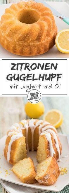 Aufgrund des Joghurts im Teig ist dieser Zitronen-Bällchen-Kuchen wirklich …   – Gugelhupf | Backen