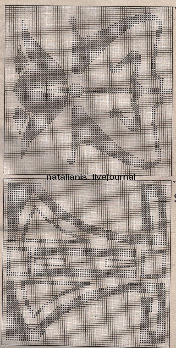 виды сетки крючком схемы