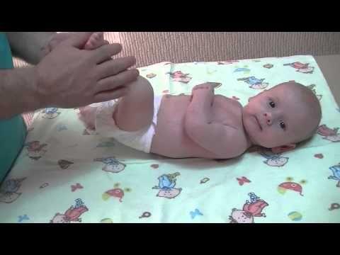 Часть1- детский массаж, массаж ребенку, массаж для грудничков, массаж для детей, массаж до года. - YouTube
