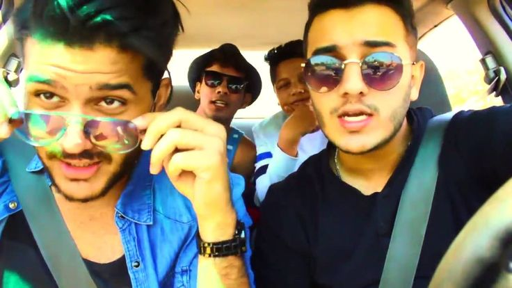 Shahveer Jafry With His Brothers | 5 Crazy Brothers | 2016